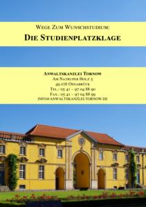 Broschüre Studienplatzklage